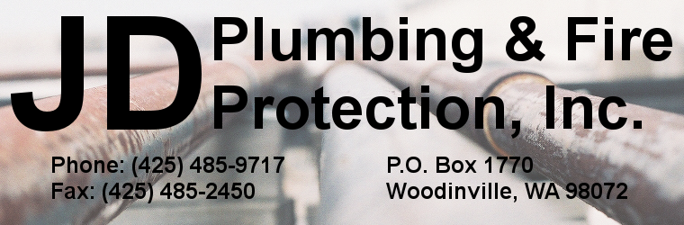 JD Plumbing and Fire Protection inc of Woodinville Washington